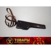 Кобура-приклад для пистолета Стечкина (бакелит) с ремнем