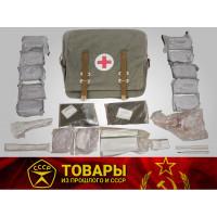 Сумка войсковая медицинская (СВМ) брезентовая, укомплектованная