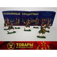 Солдатики оловянные (7 шт в комп.)