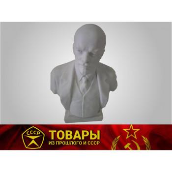 Бюст В.Ленин керамика