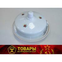 Масленка фарфоровая РККА (реплика)