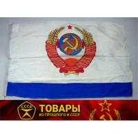 Флаг Главнокомандующего ВМФ СССР парадный 85*140