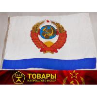 Флаг Главнокомандующего ВМФ СССР парадный (шелк)