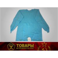 Рубашка нательная мужская (х/б или трикотаж) синяя