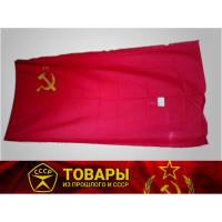Флаг СССР красный (серп/молот/звезда)