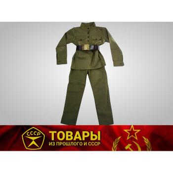 Костюм военный для мальчика р-р.135-140