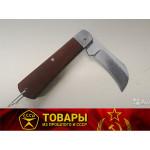 Нож садовый с деревянной ручкой