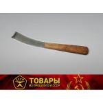 Нож копытный с деревянной ручкой